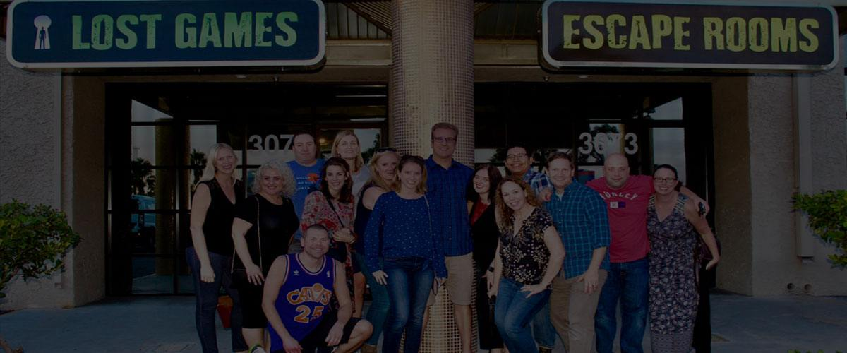 lost games escape room group events